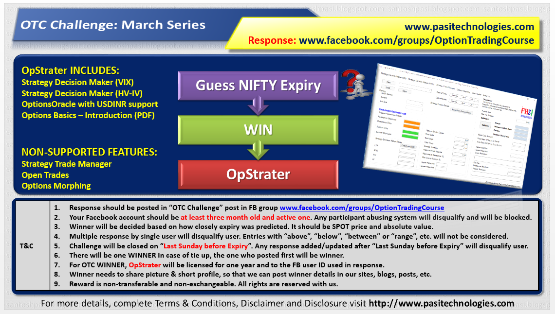 OTC Challenge: March, 2018