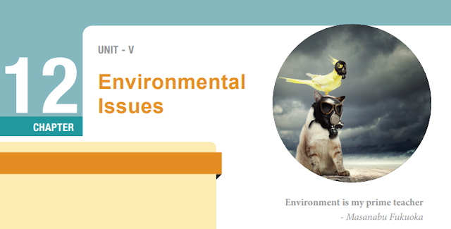 KALVISOLAI ONLINE TEST 61 - CLASS 12 BIOLOGY ZOOLOGY EM - CHAPTER 12 ENVIRONMENTAL ISSUES- 1 MARK QUESTIONS - ONLINE TEST