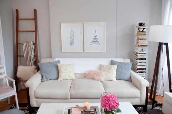 Blog achados de decora o decora o de salas pequenas e - Decoracion retro americana ...