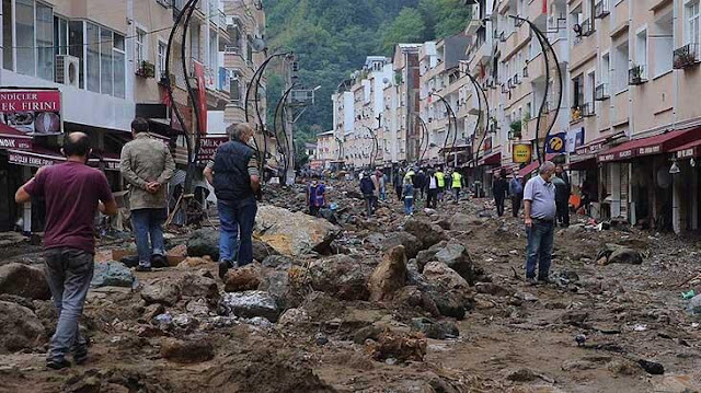 Black Sea Province Flood; Death Toll Rise to 7; At least 12 Injured; 9 People are Missing