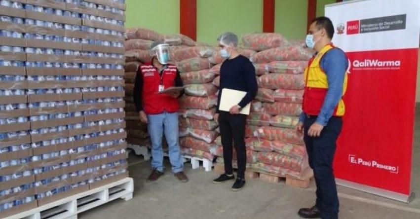 QALI WARMA: 10 mil ciudadanos del distrito Tacabamba en la provincia de Chota - Jaén, serán atendidos con alimentos entregados por el programa social - www.qaliwarma.gob.pe