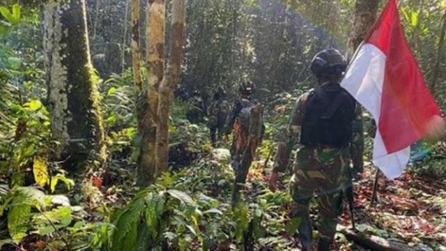 6 Hari Susuri Rimba Papua, Prajurit Kostrad TNI Temukan Bukti NKRI