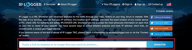 Cara Melacak FB Orang Melalui Alamat IP Menggunakan IP Logger