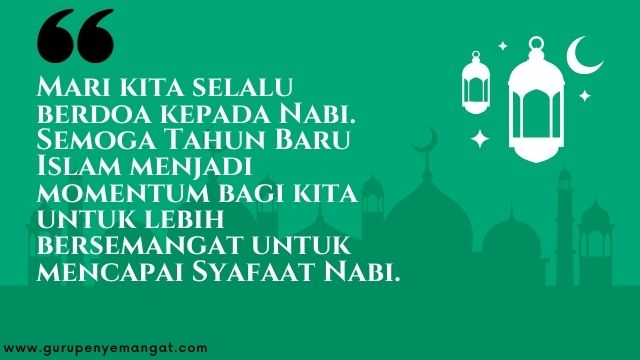 Gambar Ucapan Selamat Tahun Baru Islam 1443 H Melayu 3