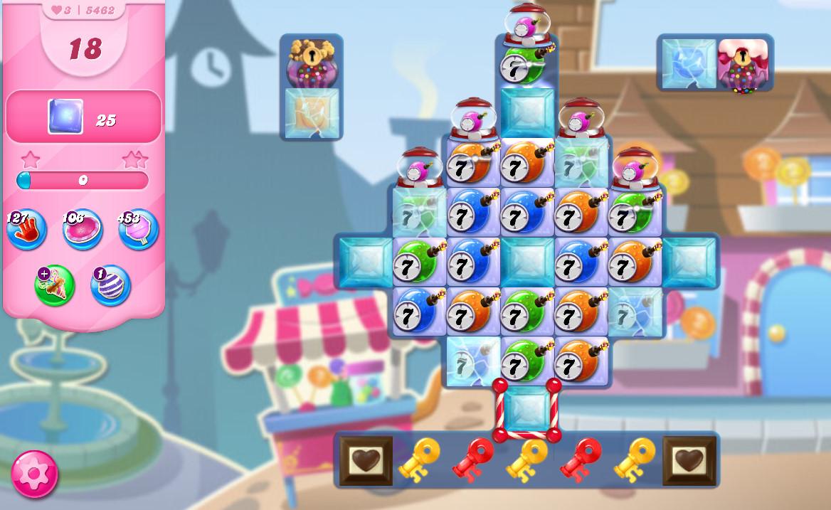 Candy Crush Saga level 5462