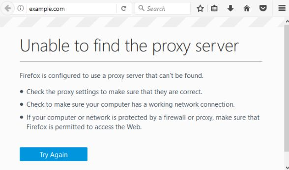 Fix Unable To Connect To Proxy Server Android Google Chrome Window 7