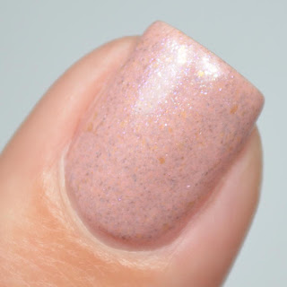 peach crelly nail polish