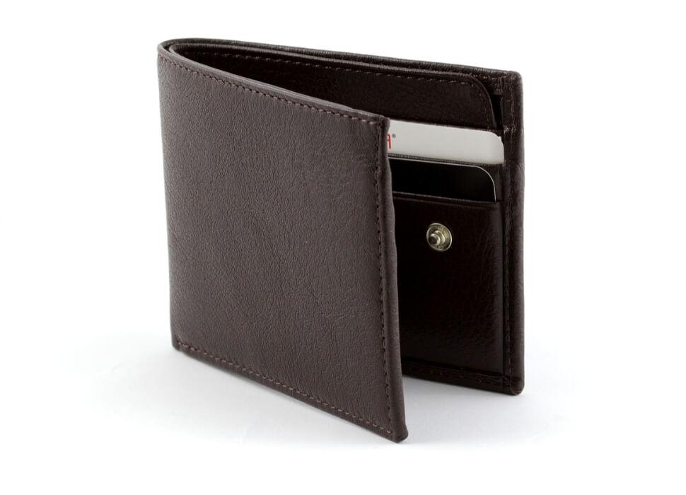 lege portemonnee