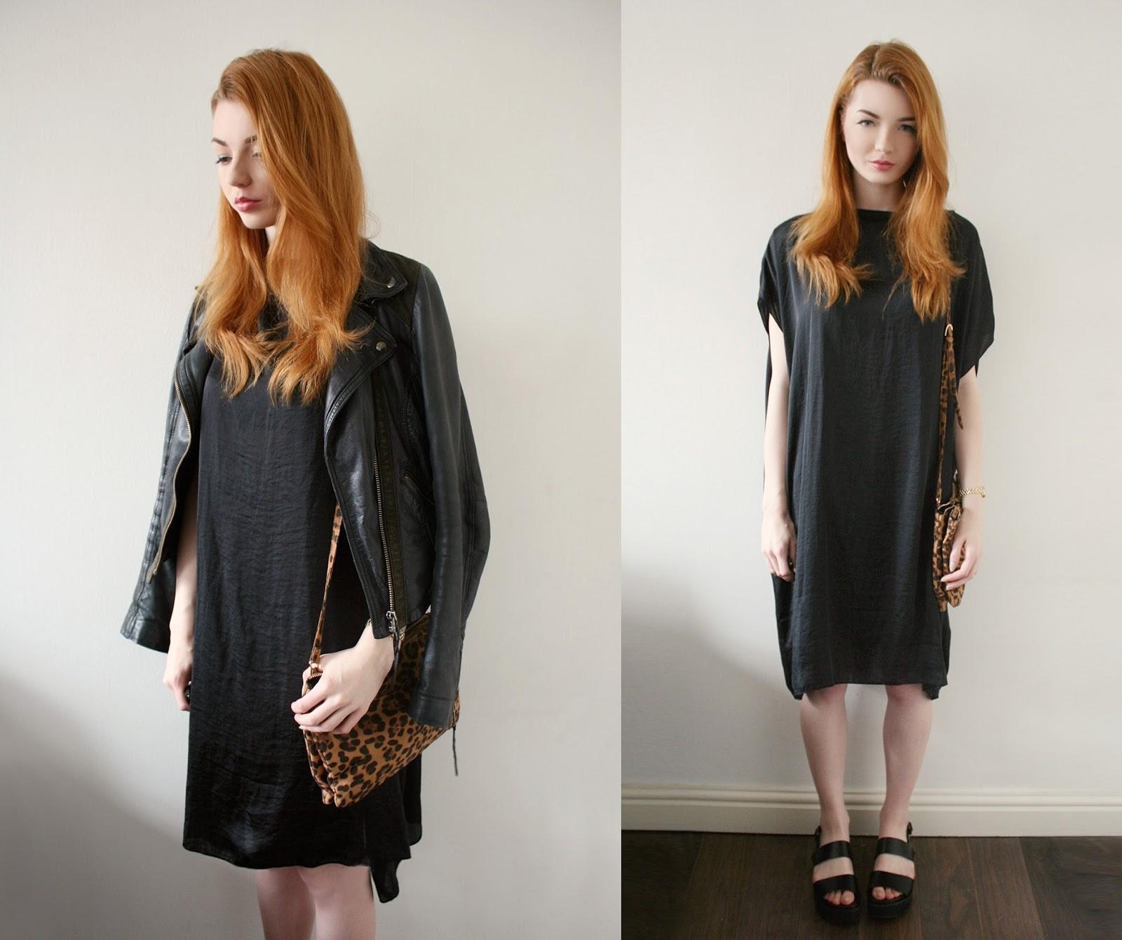 70dab3e47ab Dress – Cheap Monday @ Koshka* | Sandals – New Look* | Jacket – Topshop |  Bag – Primark
