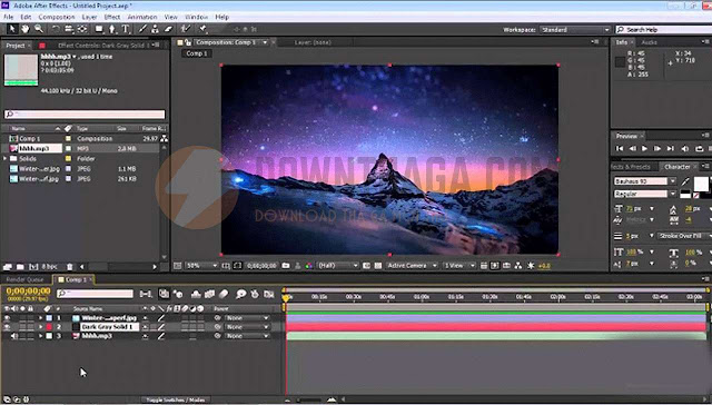 Download Adobe After Effects CC 2018 Full Cr@ck