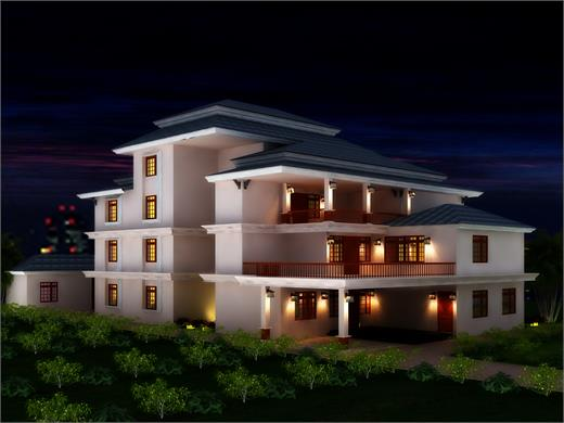 Kharadi Pune Triplex House Design