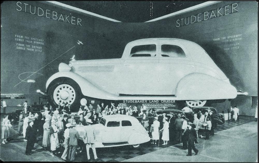 wooden Studebaker world fair