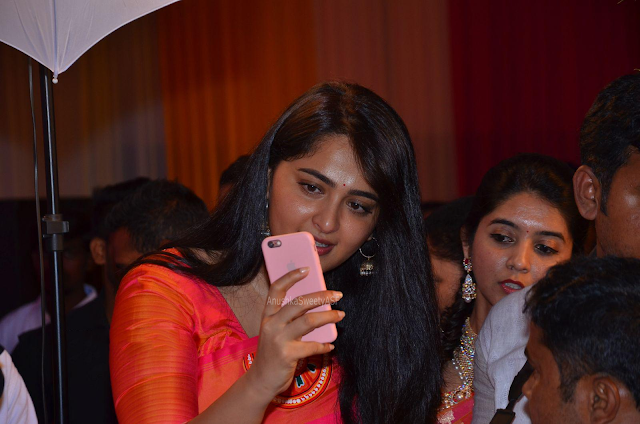 Anushka ShettySelfie @ Shyam Prasad Reddy Daughter Wedding