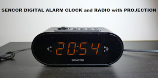 Sencor radio alarm clock review