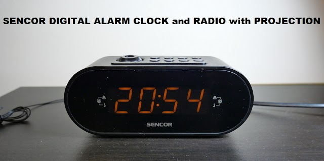 Radio alarm clock Sencor - consumer review