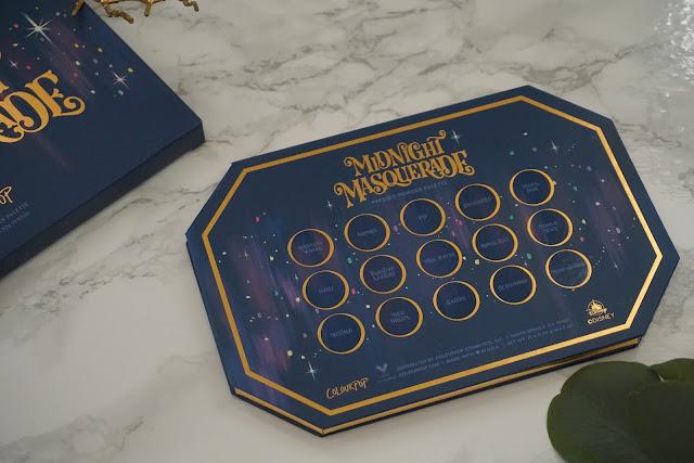 Review Colourpop - Disney Midnight Masquerade Collection