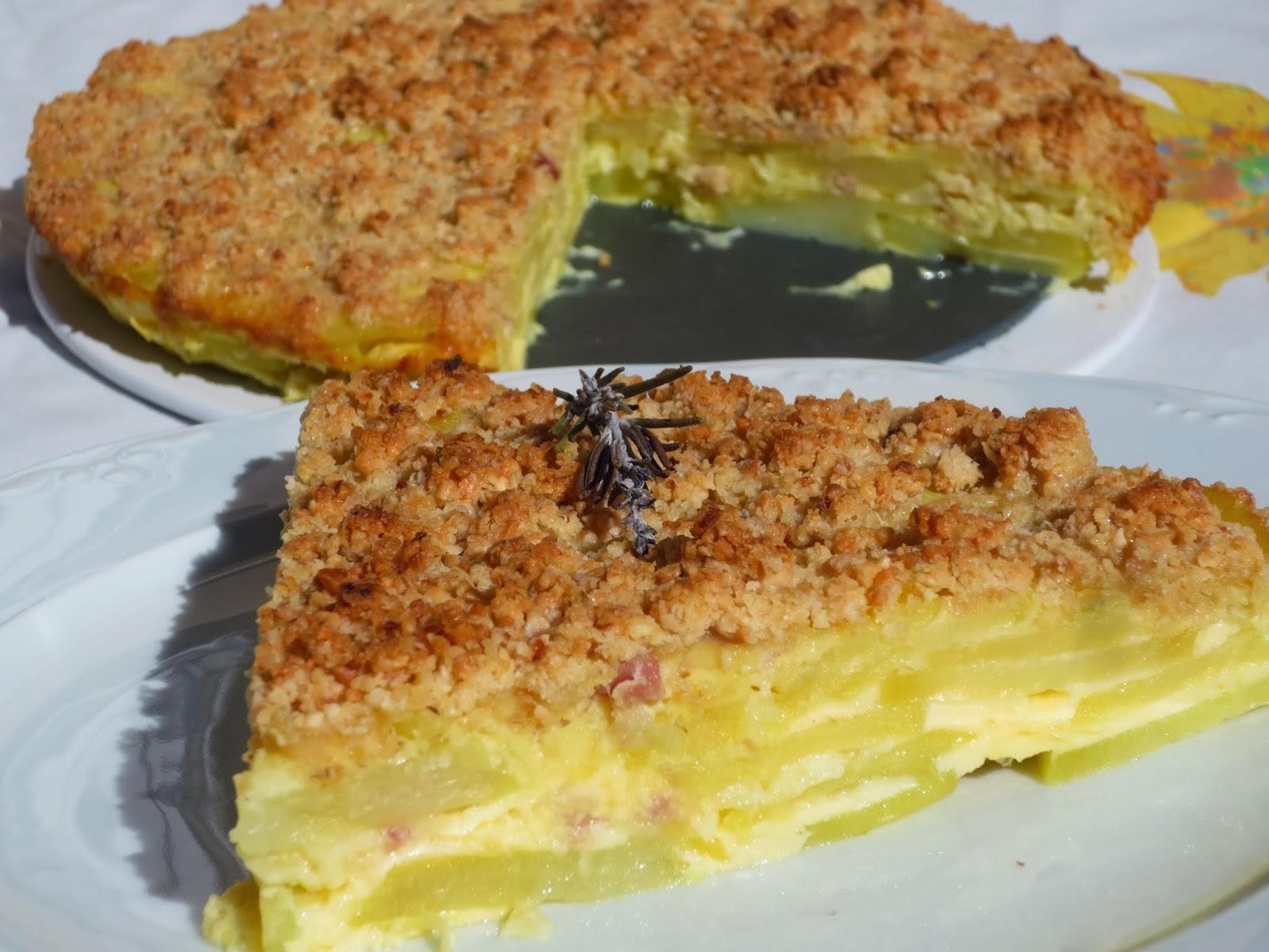 Crumble de tortilla Ana Sevilla cocina tradicional