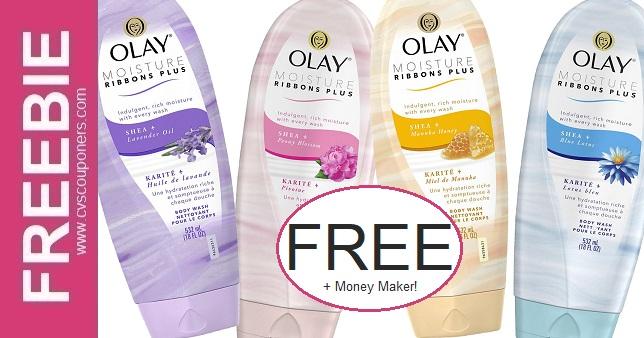 FREE Olay Body Wash CVS Deals