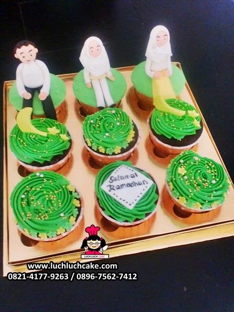 Cupcake Ramadhan dan Idul Fitri Daerah Surabaya - Sidoarjo