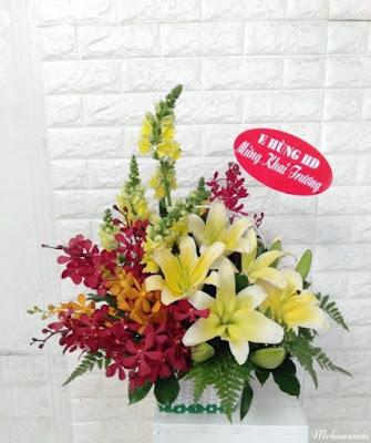 hoa sinh nhật cho cung kim ngưu