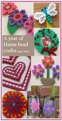 A whole year of Hama bead projects, part two