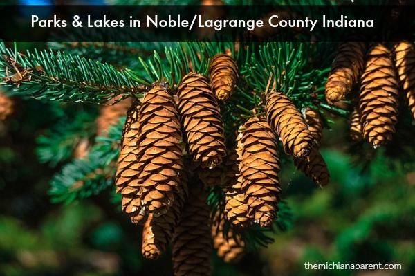 Parks Lakes Noble Lagrange Indiana