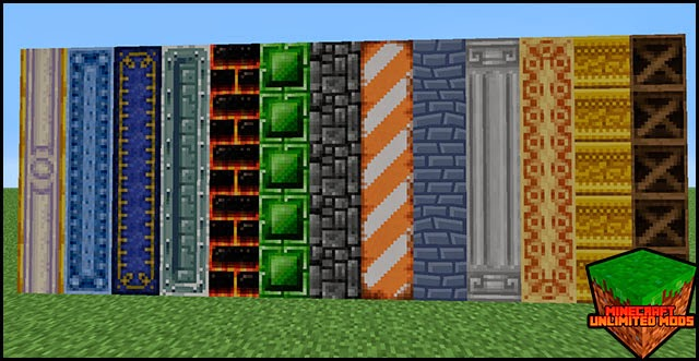 Chisel Mod Minecraft bloques