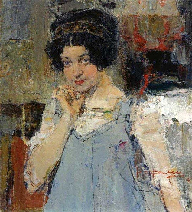Николай Иванович Фешин 1881-1955   Russian/american impressionist painter