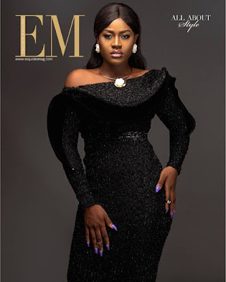 #BBNaija star Alex Unusual Exquisite Magazine cover 2019