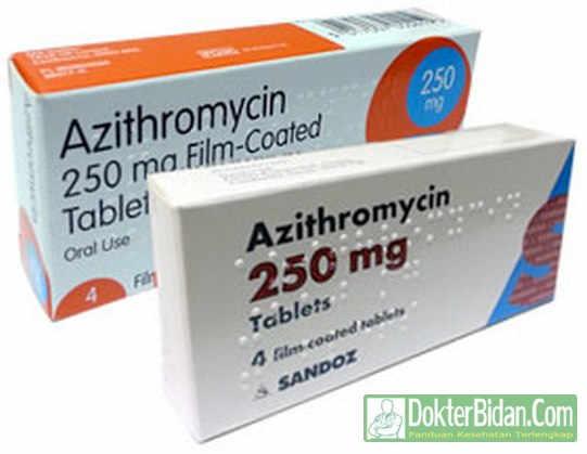 Azithromycin Antibiotik - Info Obat Dosis Pemakaian Khasiat Dan Efek Sampingnya Bagi Kesehatan