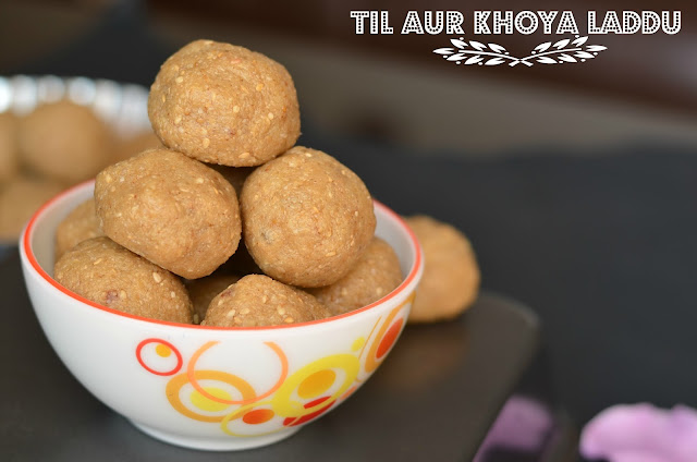 Delicious Til Aur Mava Laddu A Festival Sweet