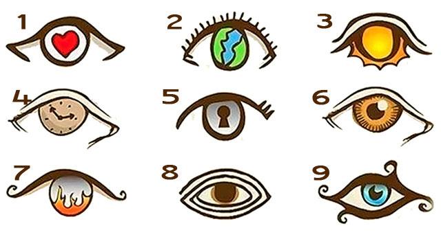 El test del ojo que describe tu personalidad