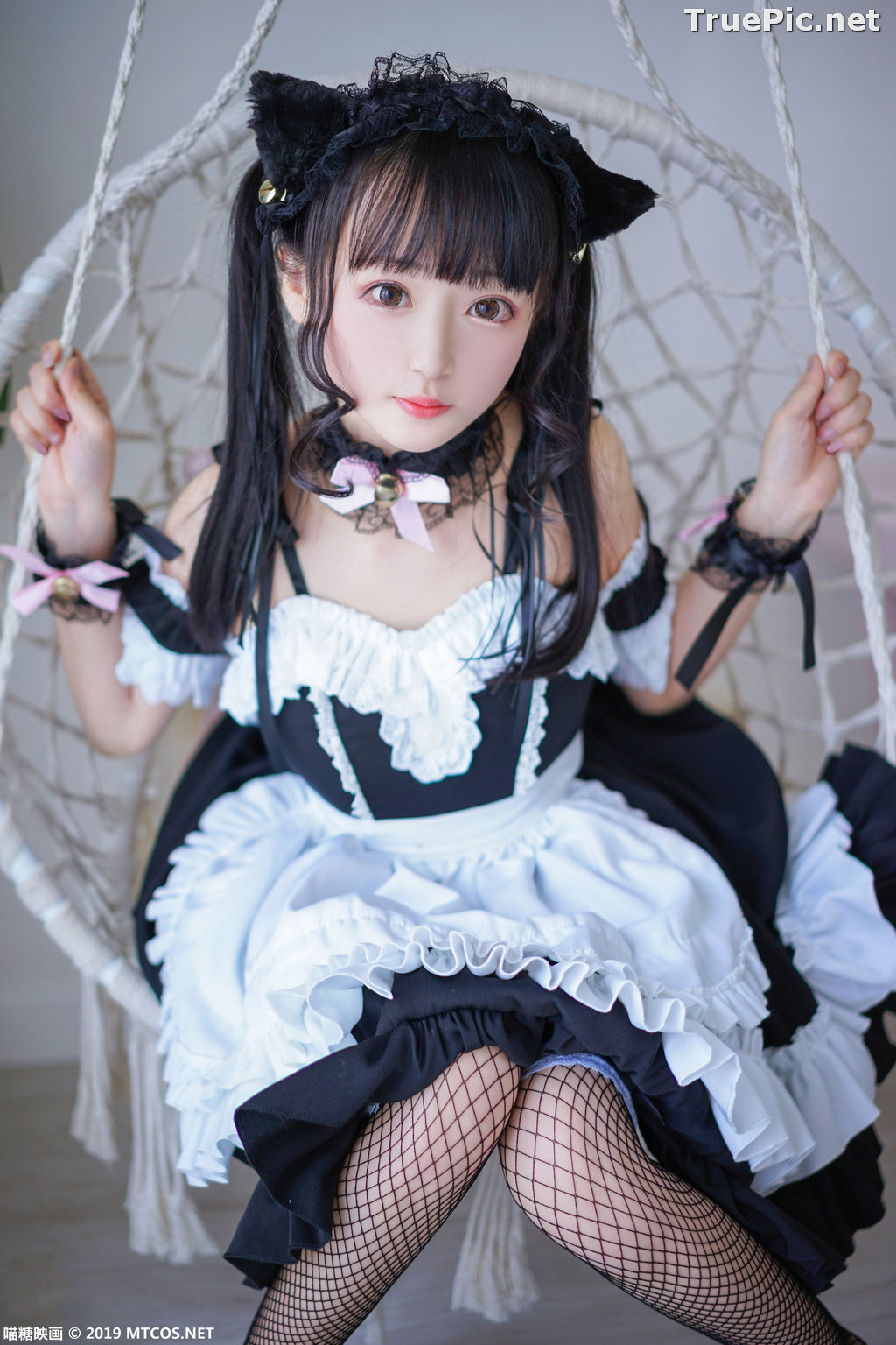Image [MTCos] 喵糖映画 Vol.051 - Chinese Cute Model - Lovely Maid Cat - TruePic.net - Picture-6