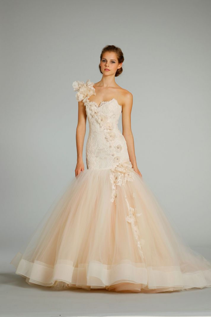 Dawn J's Fashion Wedding Gown: Wedding Dresses From Lazaro