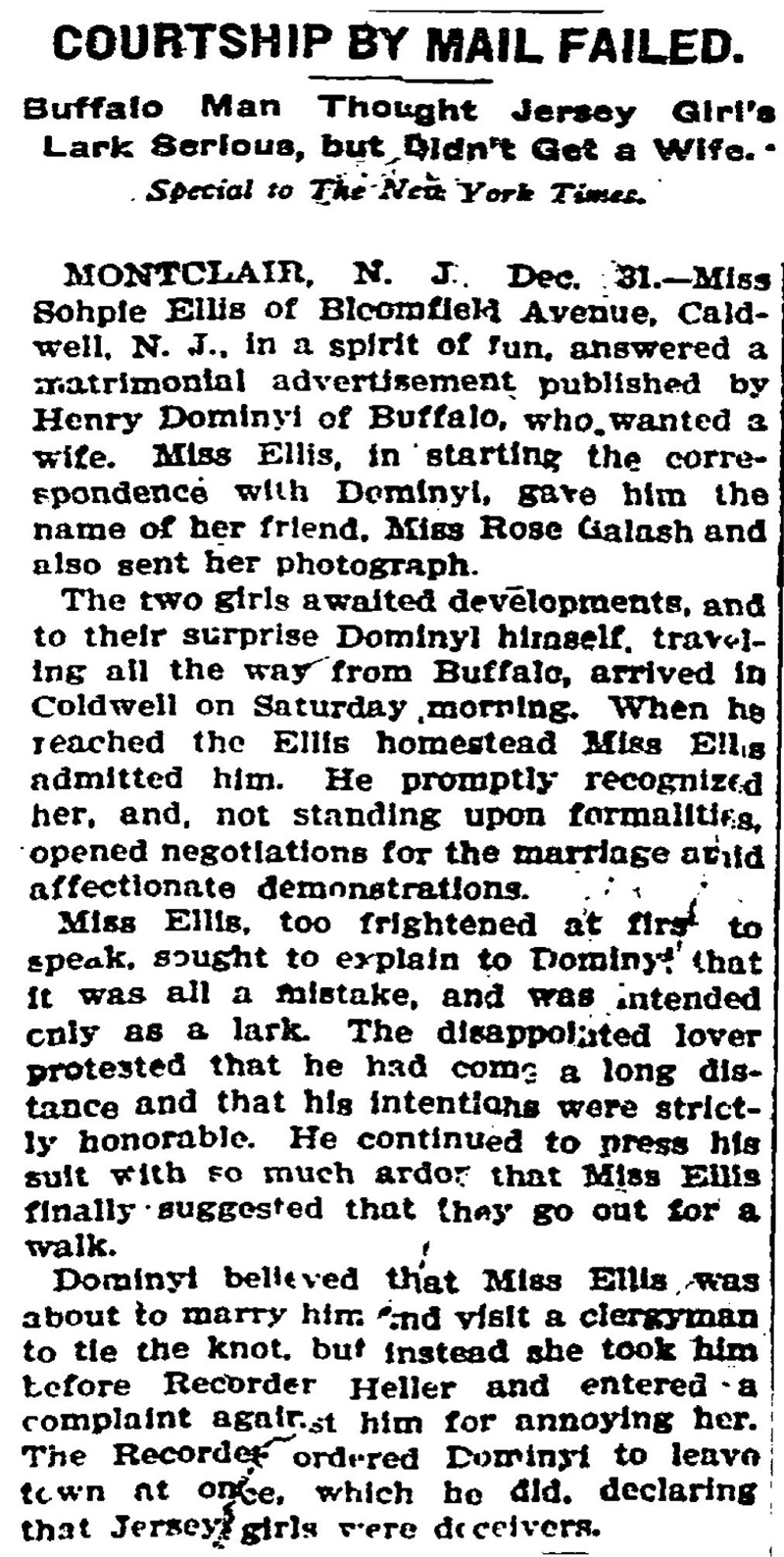 mail order brides letters history Mail-order brides the term mail-order bride, as it applies to a marriage arranged via correspondence between american men and women in the great plains in the nineteenth century, is largely a misnomer.