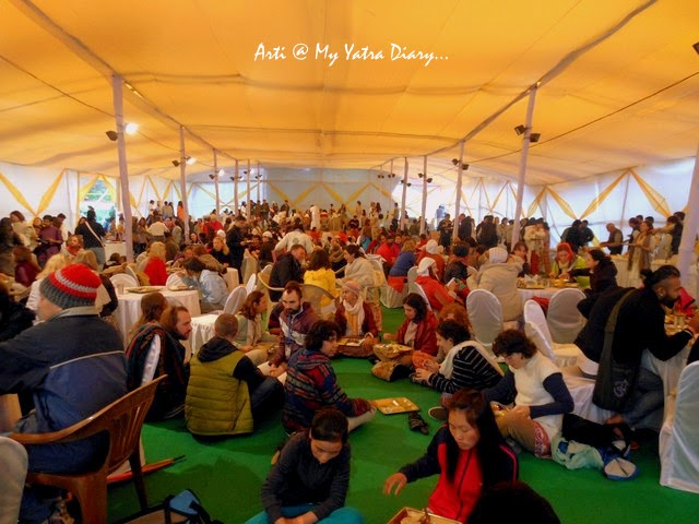 International Yoga Festival 2015 Lunch - Parmarth Niketan Ashram in Rishikesh