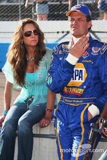 Michael Waltrip With Ex Wife Elizabeth Buffy Franks