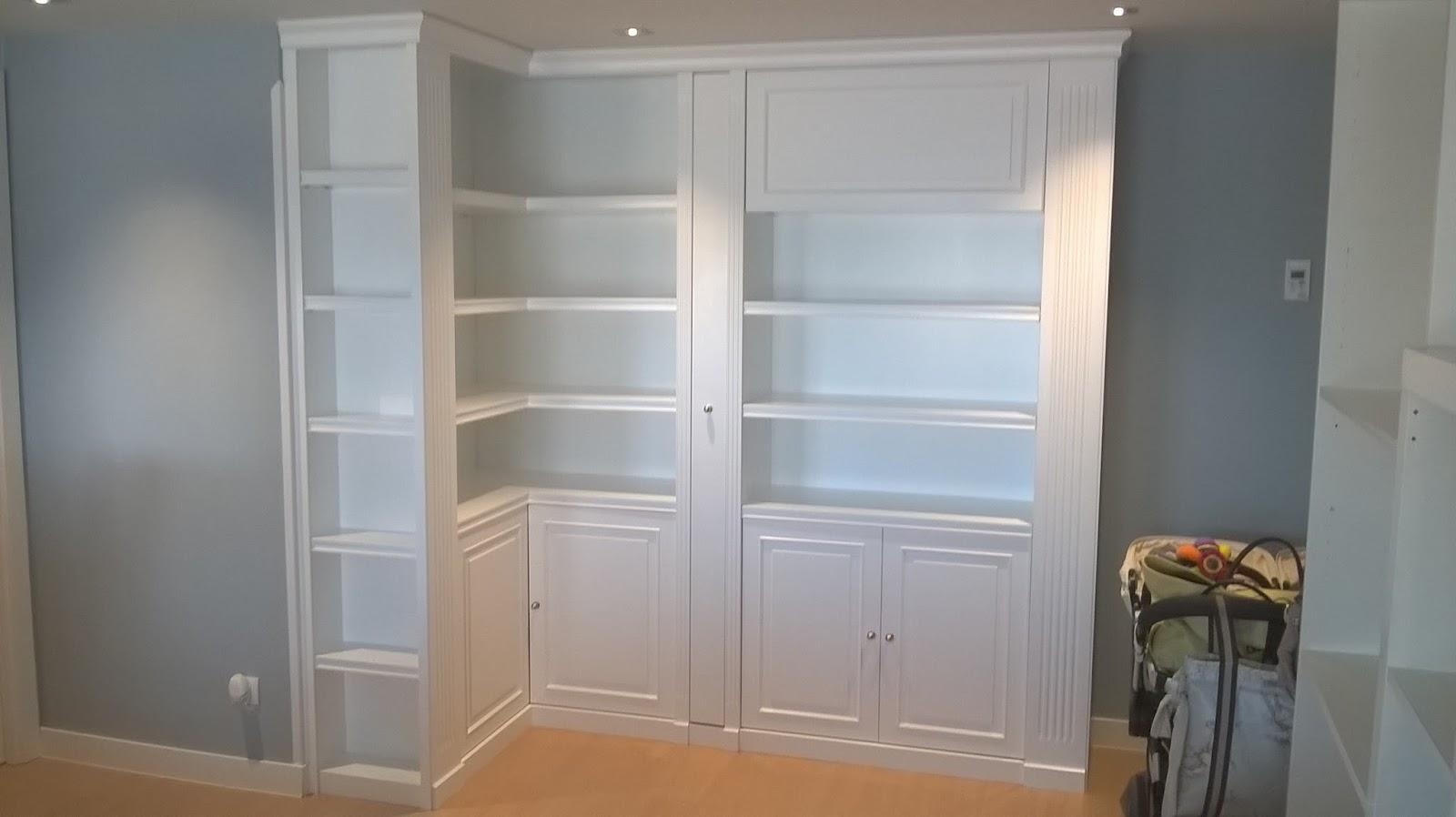 Librerias a medida madrid muebles librerias lacadas de - Mueble libreria a medida ...
