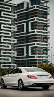 White Car Mobile HD Wallpaper