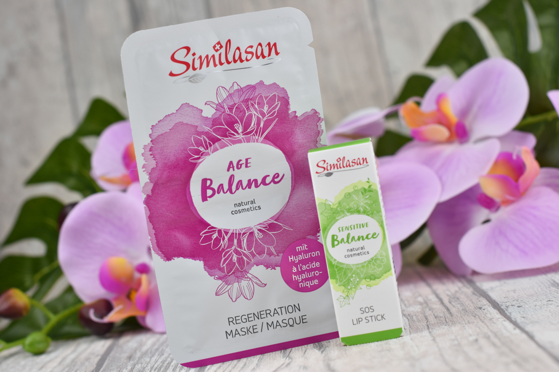 beautypress News Box Oktober 2019 Similasan SOS Lipstick - Regeneration Mask Age Balance