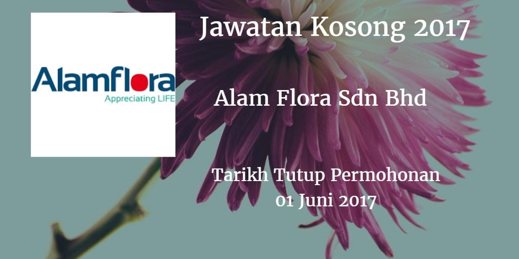 Jawatan Kosong Alam Flora Sdn bhd 01 Juni 2017