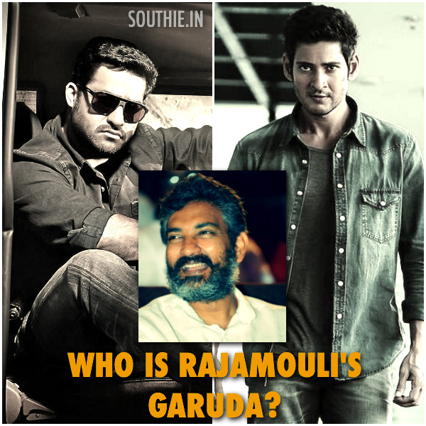 Rajamouli's Garuda NTR or Mahesh Babu? Who is the front runner for this Magnum opus. India's Biggest movie ever to be made. When will this movie go to floors. JR.NTR, Rajamouli, Mahesh Babu, Superstar Mahesh babu, Rajamouli, movie, Garuda, Garuda latest posters, Garuda fan made posters, Garuda First look, Mahesh Babu, NTR, Rajamouli, Southie,