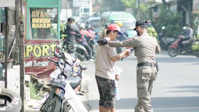 Operasi Prokes di Perbatasan Bandung Raya, Melanggar Denda dan Kurungan