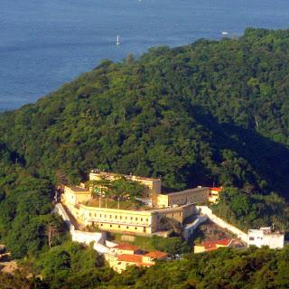 Fortaleza São João, vista do Morro da Urca, Rio de Janeiro