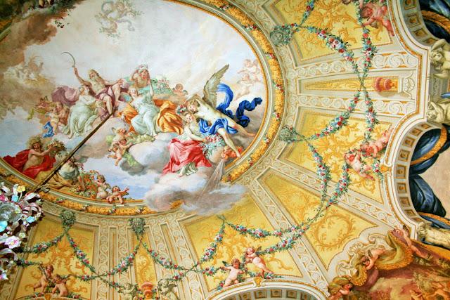 affreschi, volta, disegni, pitture
