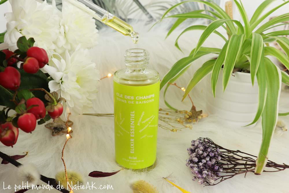huile elixir Eclat