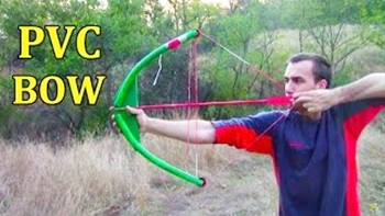 How to make a PVC-pipe bow