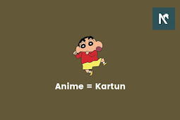 Apakah Anime dan Kartun Itu Sama?