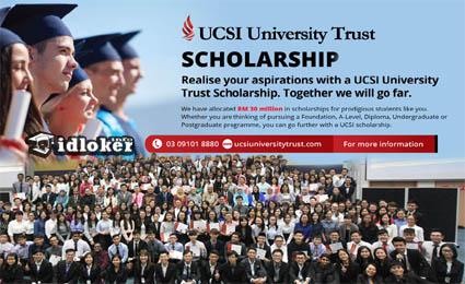 UCSI University Trust Scholarships