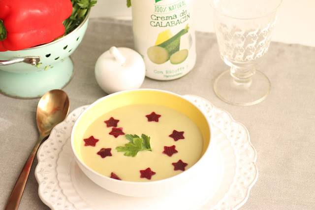 Crema de calabacín de Knorr